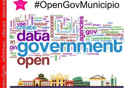 Comunicato n.018 – #OpenGovMunicipio